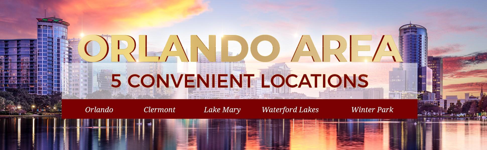 5 Convenient Locations